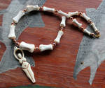 Horse Bone Goddess Necklace
