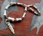 Horse Bone Goddess Necklace