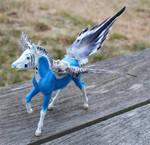 Breyer Ponykeet Custom Pegasus