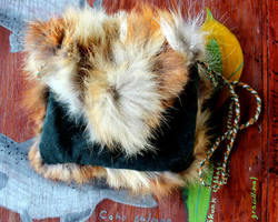 Upcycled Fur Pouches FS! by lupagreenwolf