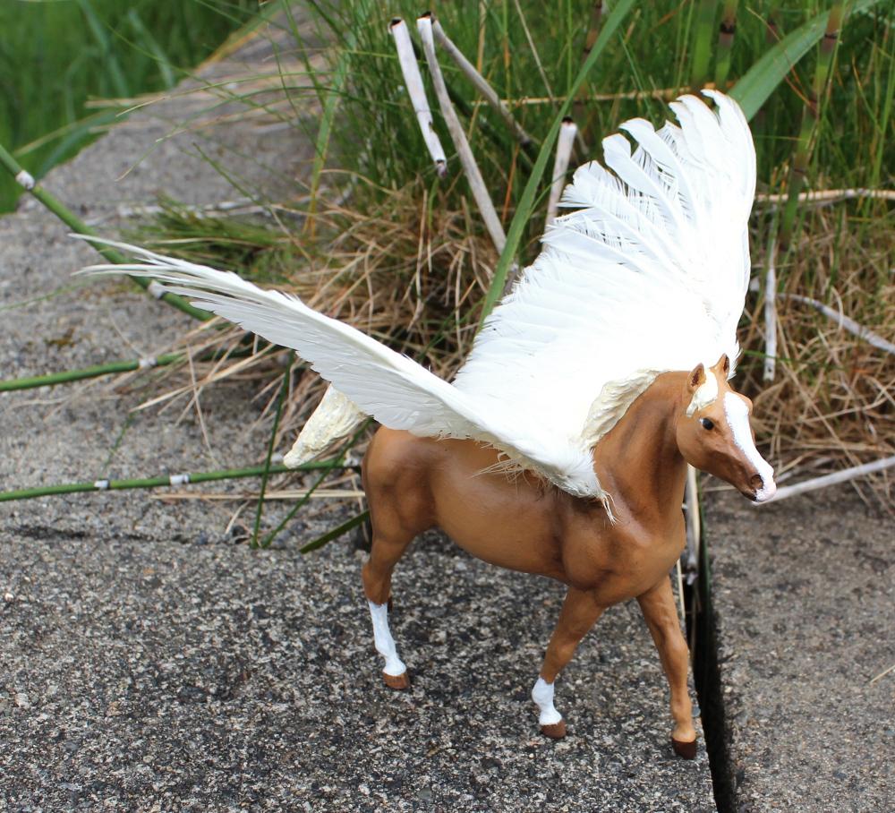 Malthen - Breyer Custom Pegasus