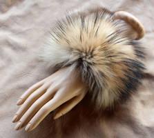 Coyote Fur Bracelets! by lupagreenwolf