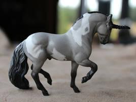 Patience - Breyer Custom Unicorn by lupagreenwolf