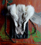Fur and Leather Pouches