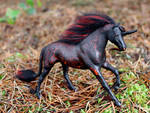 A'a - Custom Breyer Unicorn by lupagreenwolf