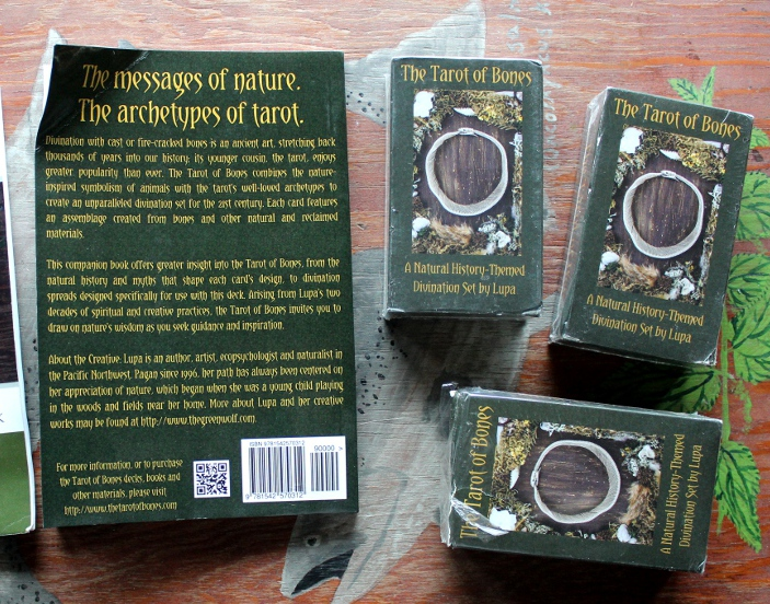 Damaged Tarot of Bones at a Discount! by lupagreenwolf