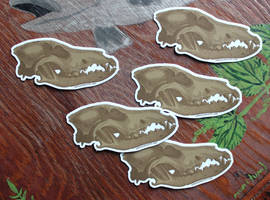 Vulture CUlture 101 Stickers! by lupagreenwolf