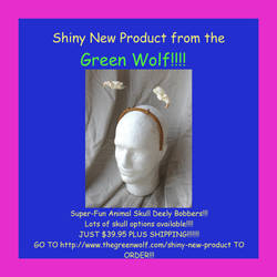SHINY NEW PRODUCT!!!! by lupagreenwolf