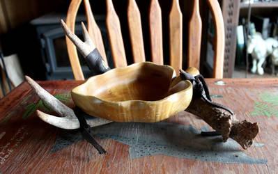 Deer Antler Bowls!