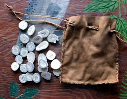 Carved Antler Runes and Ogam Sets!