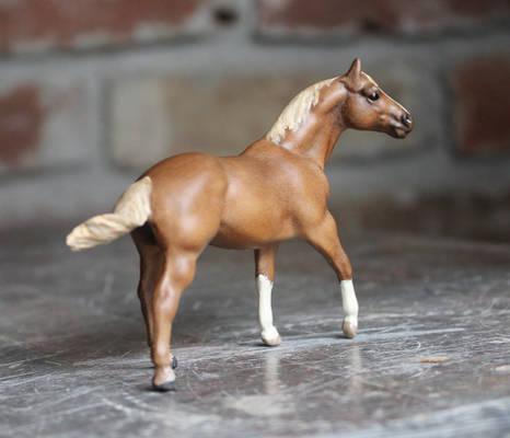 Poco Solo - Custom Breyer Stablemate Quarter Horse