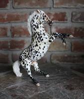 Farley - Custom Breyer Rearing Stallion to PoA