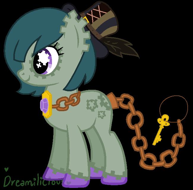 Custody - Keylock Pony Custom for The-Apparition by Dreamilicious