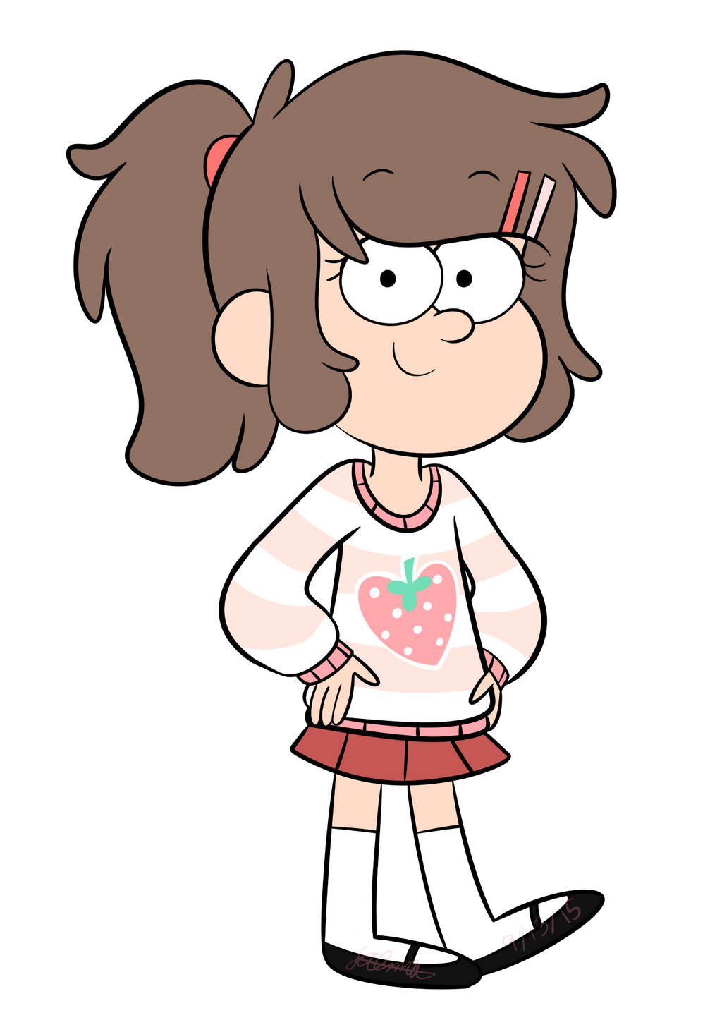 Oc Chloe Haimes First Look In Gravity Falls By