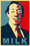 PROUD - Harvey Milk Poster