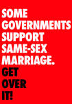 Some Governments Support Same-Sex Marriage