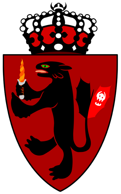 Crest of the Norwegian Royal Family by kingpin1055