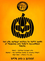All Hallows' Eve - party invite by kingpin1055