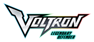 Voltron: LD assets - logo (glowing) by kingpin1055