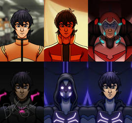 The Faces of Keith Kogane by kingpin1055