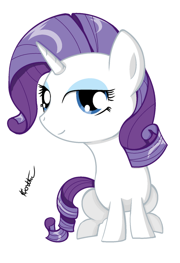 Chibi Rarity by kadlawuvswubs on deviantART