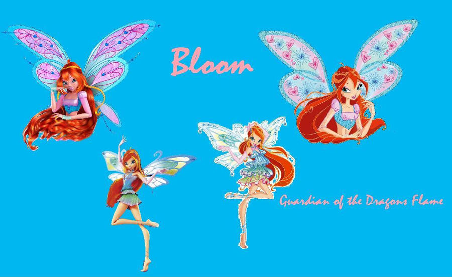 winx club wallpapers. Bloom Winx Club wallpaper by
