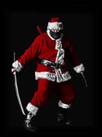 Ninja Santa by barbranz