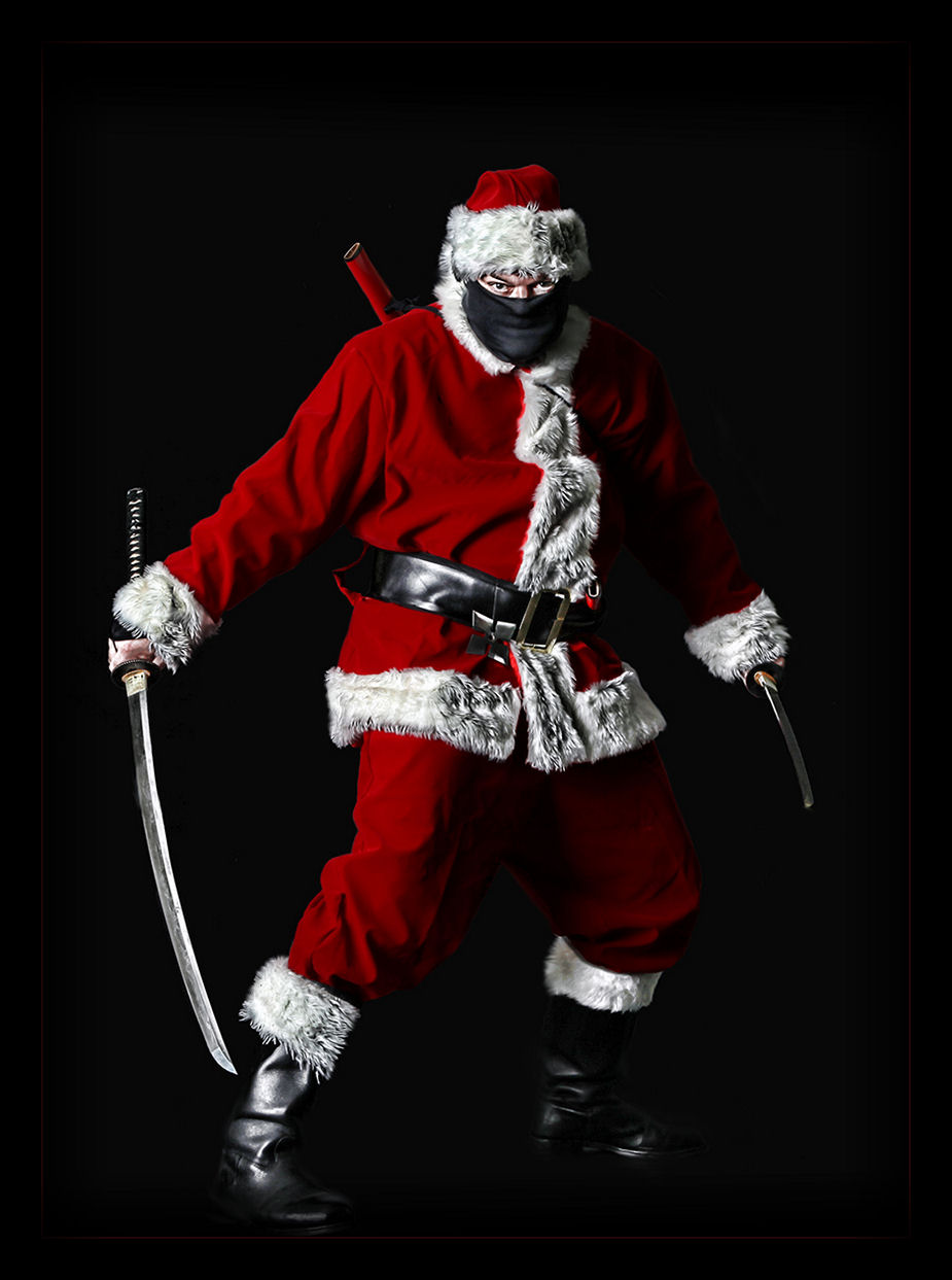 I am a Christmas card ninja. | Josh Mosey | Writer