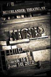 Newsies Letterpress Poster
