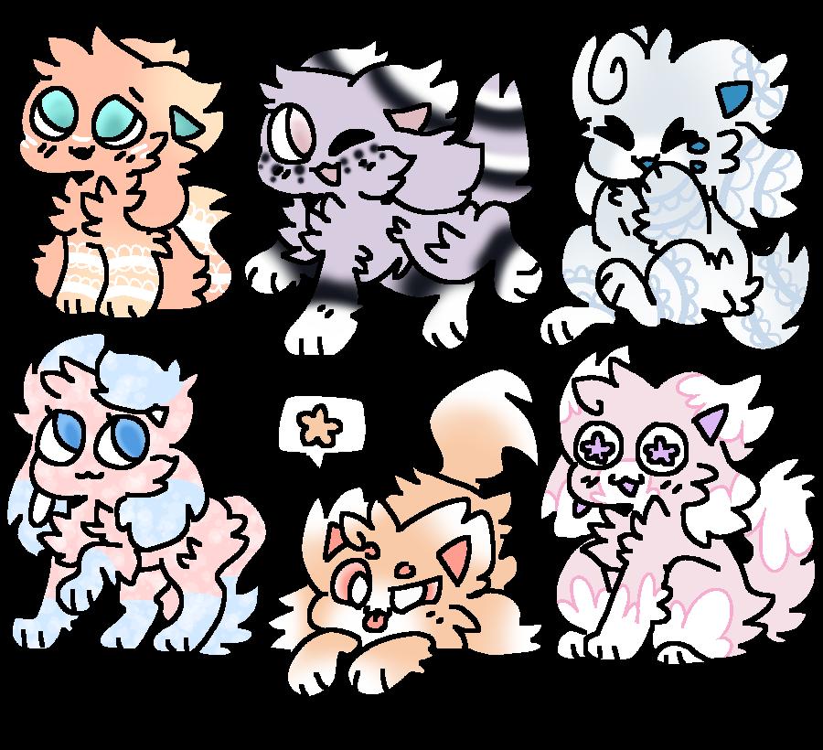 Kittydog Adopts (1) (Open!) by FlickerFlameh