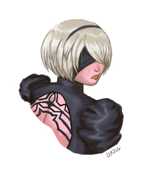 (Another) 2B portrait