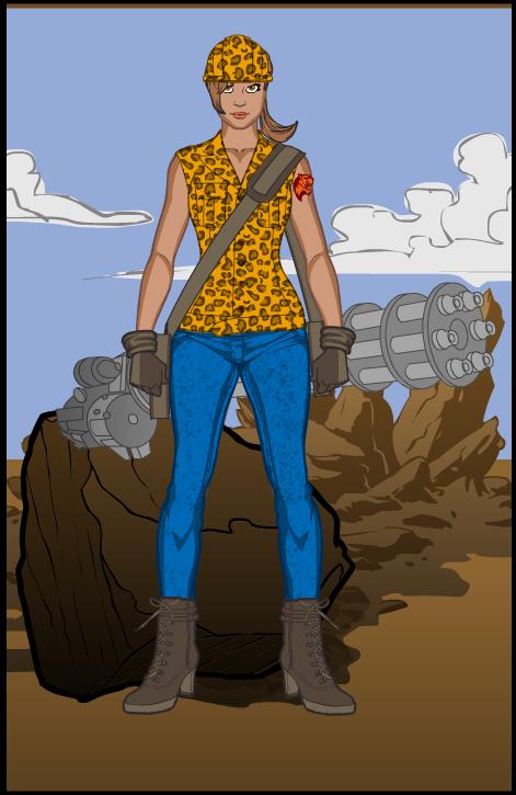 Hero Machine Contest 43 by ladybard96