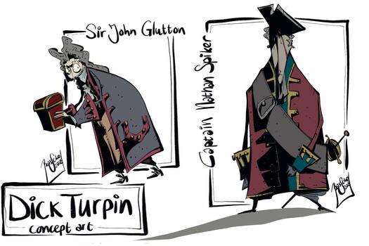 Spiker and Glutton