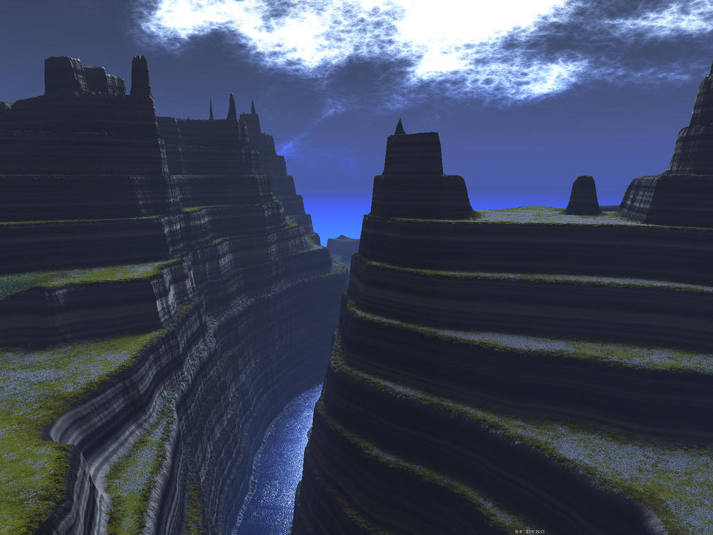 TerraGen: Cloaked In Blue by dynomyte