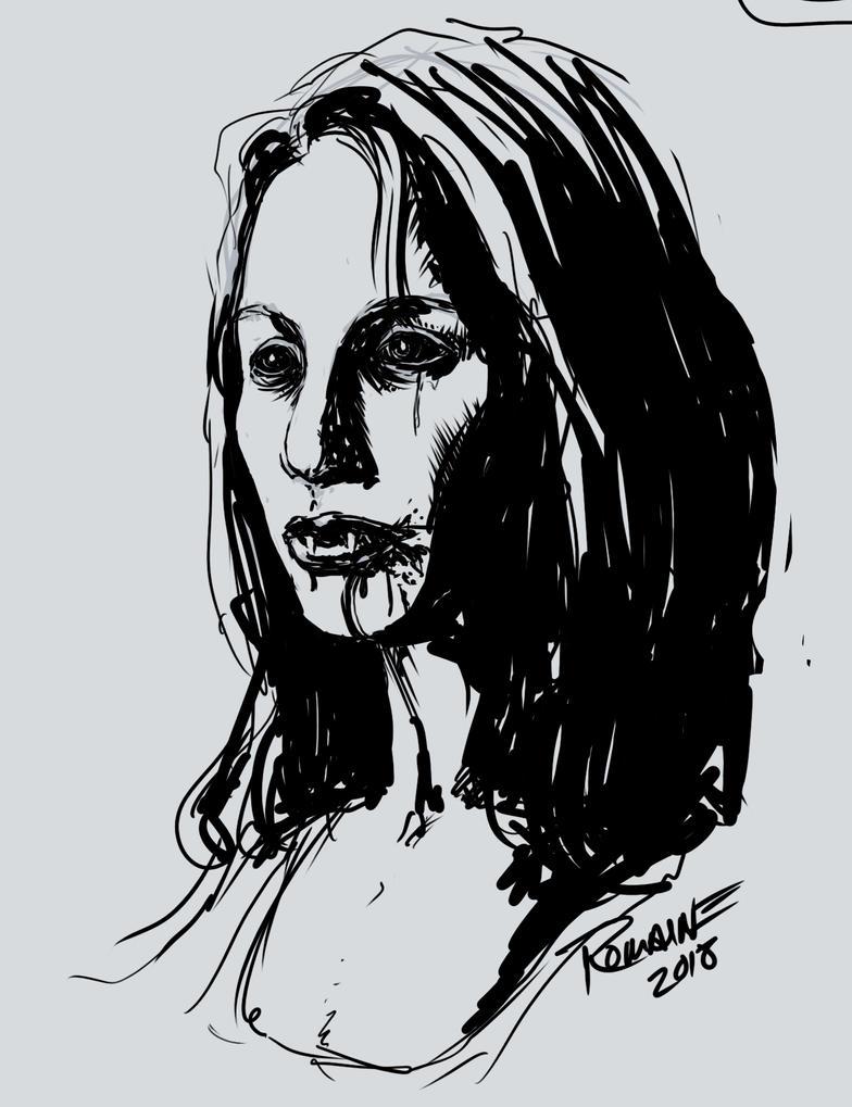 Vampiress by maxromaine