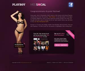 Playboy's Miss Social
