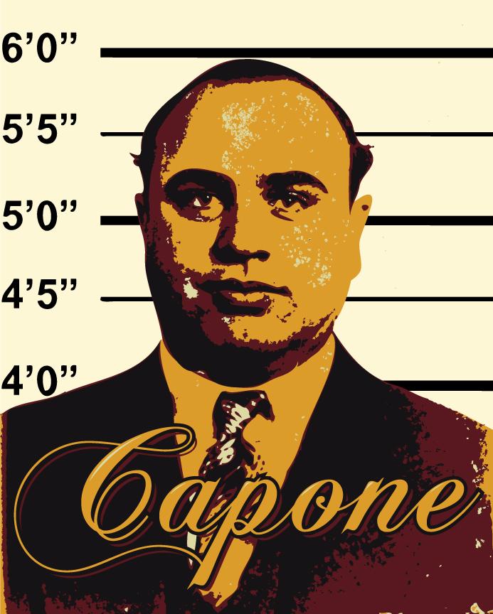 Al Capone Vector by Flich