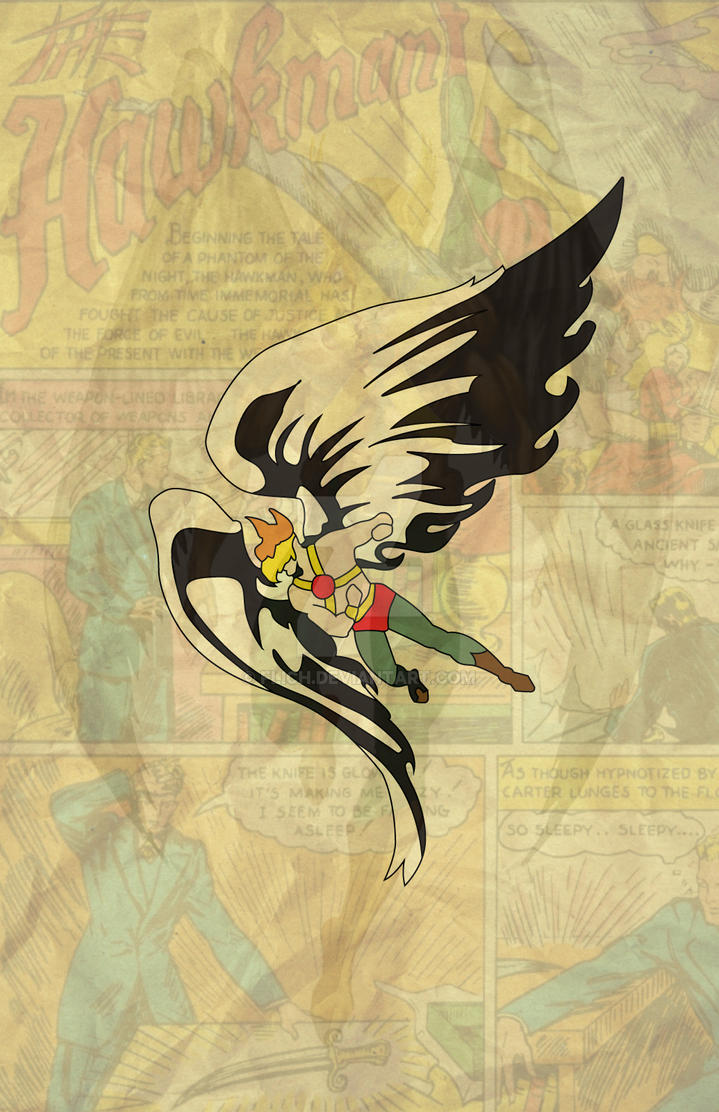 First Appearance Hawkman by Flich