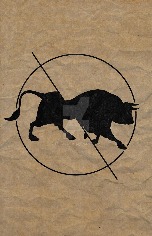 Bull Split by Flich