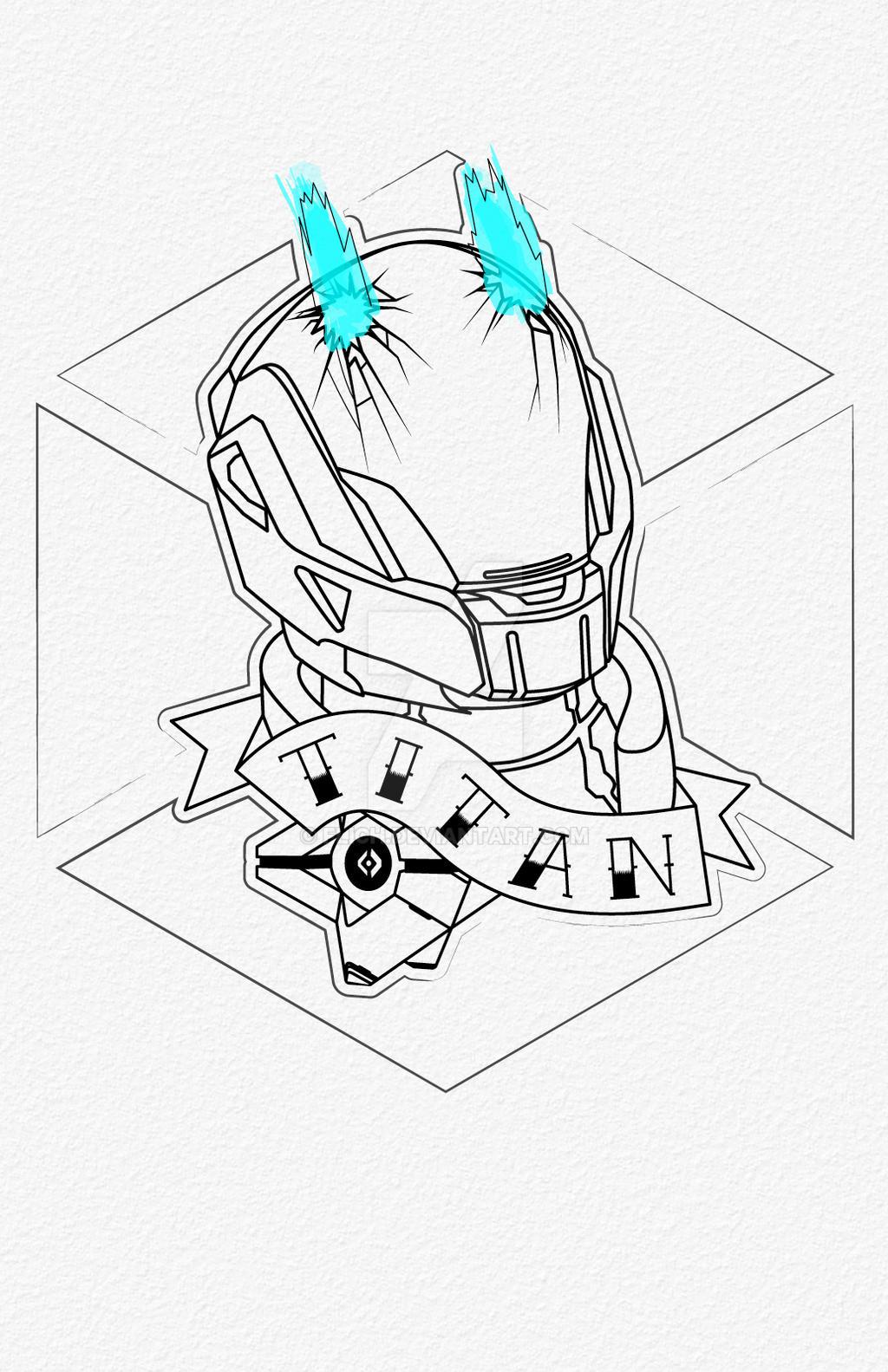 Destiny Titan Tattoo By Flich On DeviantArt