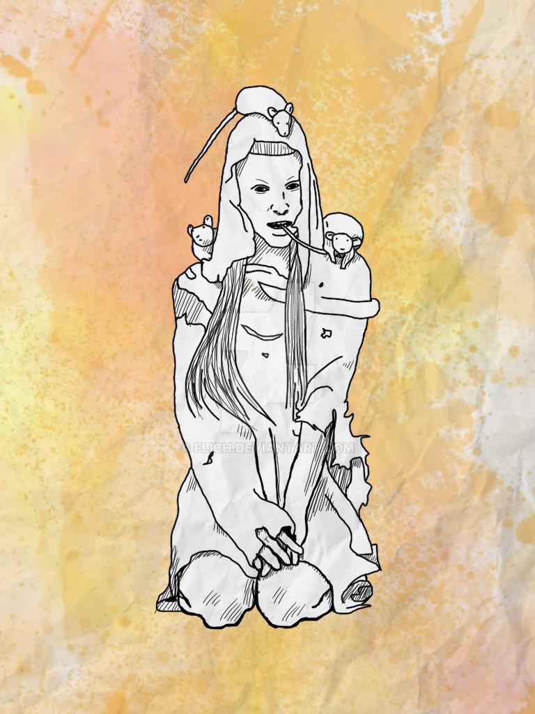 Yolandi Ipad Drawing by Flich