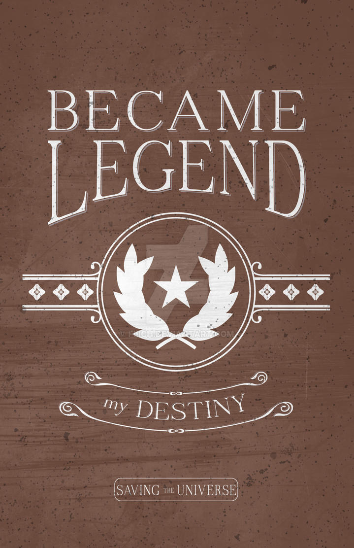 Became Legend Saving the Universe by Flich