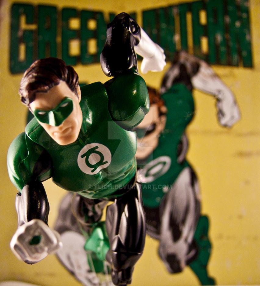Green Lantern Classic by Flich