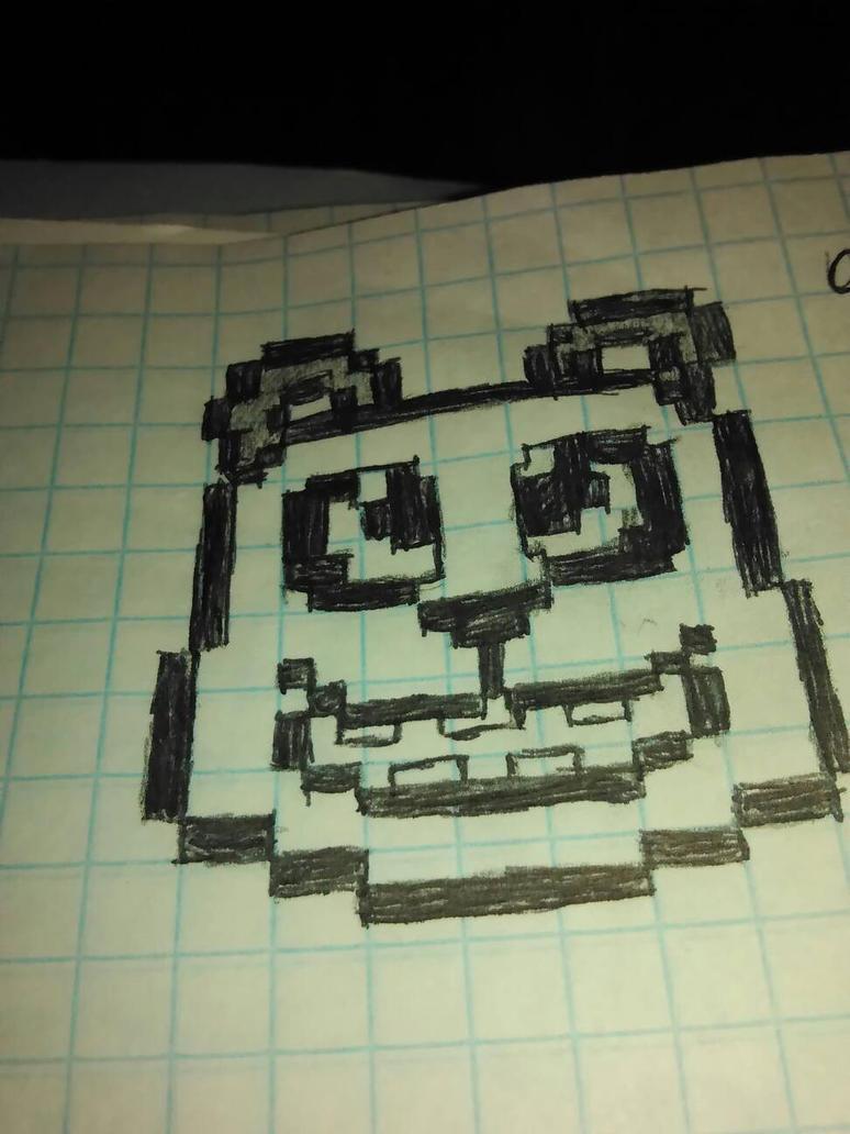 Pixel Panda by Memamo3