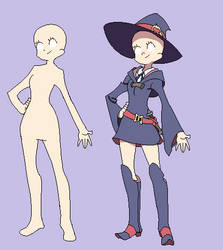 little witch academia Base