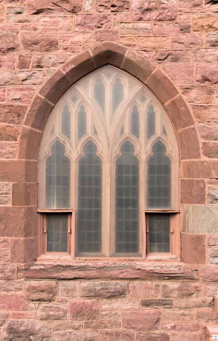 Clouded Church Window by sequential