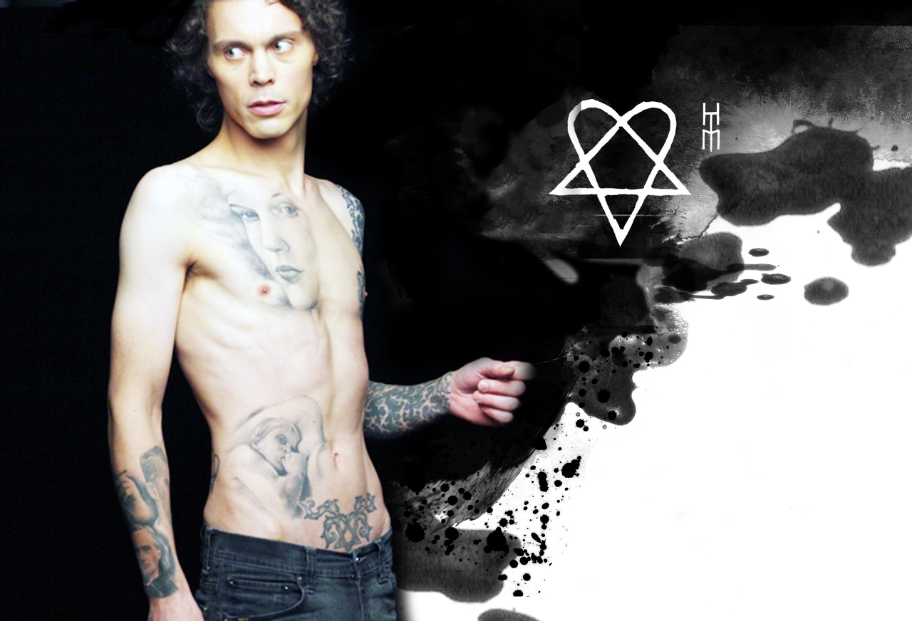 NEW- Ville Valo Wallpaper by Pompelina on DeviantArt