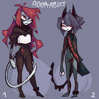 Adoptables [SOLD//SOLD] by Atticfail
