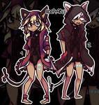 Adoptables - Dark Hoody Cats [OPEN/OPEN] by Atticfail