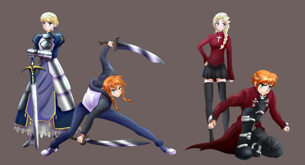 Frozen Crossover Fate Stay Night By Kei111 On Deviantart Fate/stay night & one punch man/ワンパンマン, t, english, friendship & adventure, chapters: frozen crossover fate stay night by